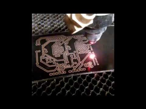 Circuit Board Etching with a Laser Cutter