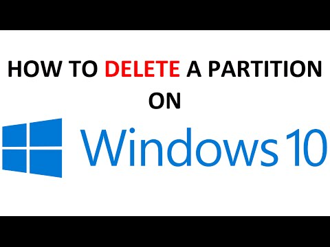 How to Delete a Partition on Windows 10