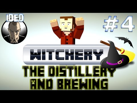 Witchery Tutorial - Distillery and Brewing - Minecraft Mod