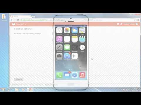 How to Sync Outlook Contacts to iPhone Running on iOS 7