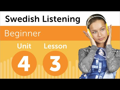 Swedish Listening Practice - Renting a DVD in Sweden