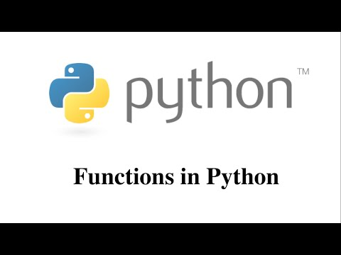 Functions in Python [HD 1080p]