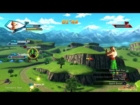 Dragon Ball: Xenoverse - 5 Online Matches | Goku, Vegeta, Gohan, Tien Gameplay (Beta)