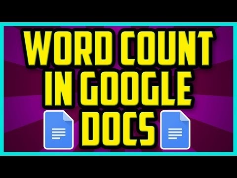How To Do A Word Count In Google Docs PC 2017 (QUICK & EASY) - Google Docs How To Get A Word Count