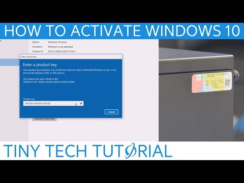 How to find License Key & Activate Windows 10