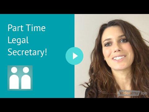 Part Time Legal Secretary - Melbourne