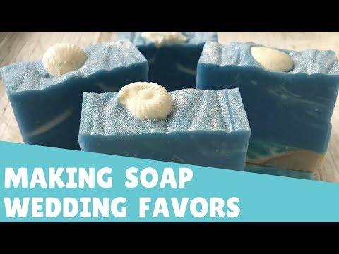 Making Soap as Wedding Favors | 💍 Gypsyfae Creations