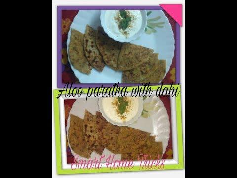 Tawa aloo ke parathe ki recipe - restaurant style masala aloo stuffed paratha in hindi