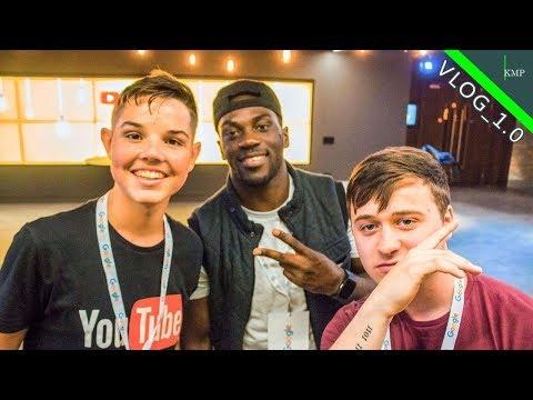 Visiting Google Dublin  - Irish YouTubers Creator Connect | VLOG_1.0