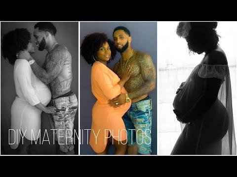 How To: DIY Maternity Photoshoot   Shardel Haden