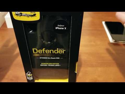 iPhone X Otterbox Defender case!