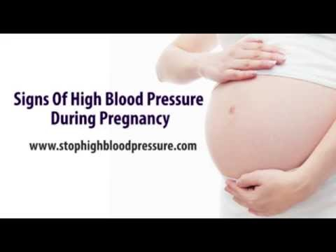 Sign Of High Blood Pressure During Pregnancy