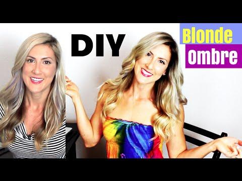 DIY Blonde Ombré Hair Color