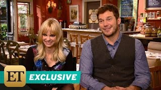 EXCLUSIVE: 'Chris Pratt Adorably Admits He Was 'Jealous' of Wife Anna Faris Visiting 'Mom' Set