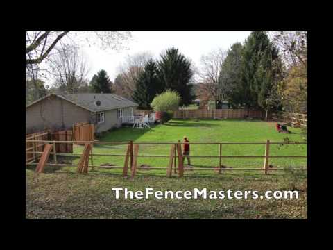 Wood Fence Time Lapse
