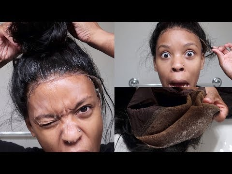 The UGLY Truth About FRONTALS + How To Takedown and Remove Gel From Lace