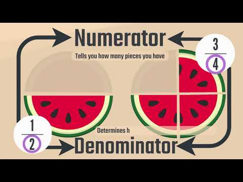 Fractions for kids and adults simplified