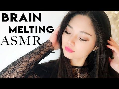 [ASMR] ~Brain Melting~ Sleep Treatment (Binaural Triggers)