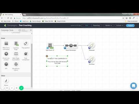 New Infusionsoft  Campaign Builder