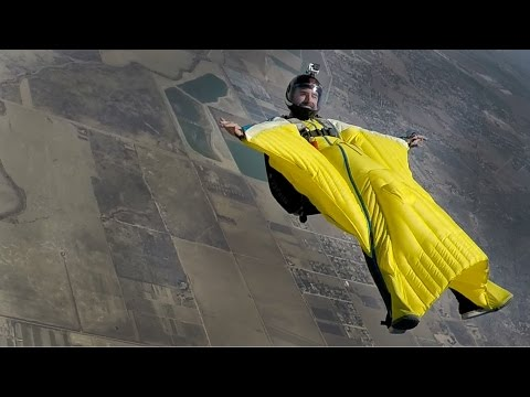 Wingsuit Back Flying Randy - 00623