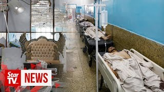 Afghan wedding suicide blast kills 63, wounds 182 - ministry