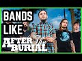 3 Bands For AFTER THE BURIAL Fans: The Dali Thundering Concept, Jonestown, Letters From The Colony