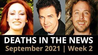 Who Died: September 2021, Week 2   News & Reactions