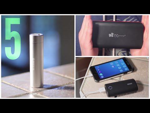 Top 5 External Batteries/Power Banks (2015)