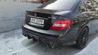 Mercedes C63 AMG Exhaust - PakVim net HD Vdieos Portal