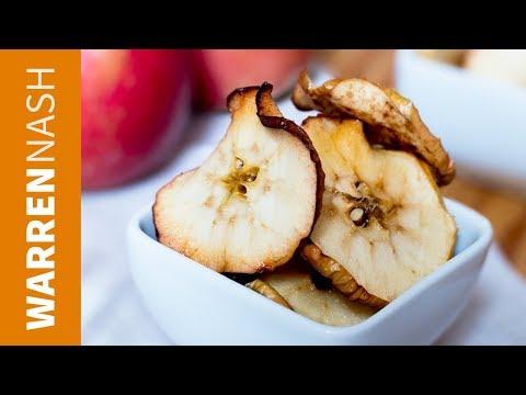 Apple Crisps Recipe with Honey & Cinnamon - Tasty Recipes by Warren Nash