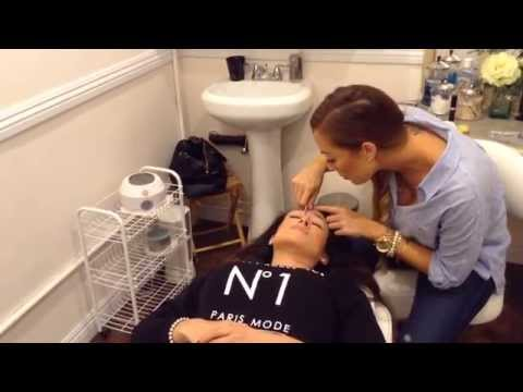 How to wax your eyebrows- how to do Brow shaping- Brows by