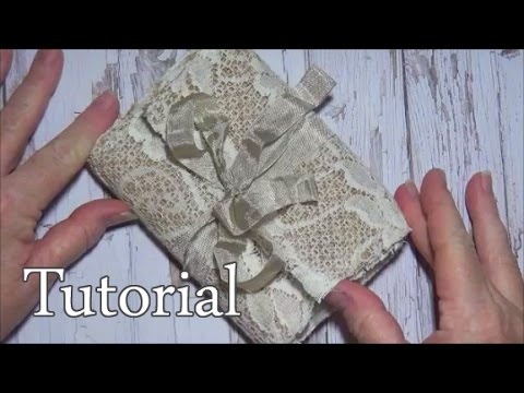 Simple Fabric Book Base Tutorial