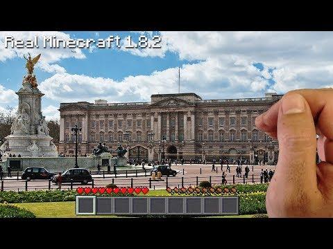 Real Life Minecraft - BUCKINGHAM PALACE!!