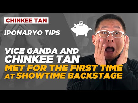 Vice Ganda and Chinkee Tan Met for the First Time at Showtime Backstage