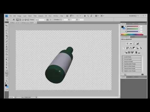 PS - How to rotate 3D images (CS4 Extended)