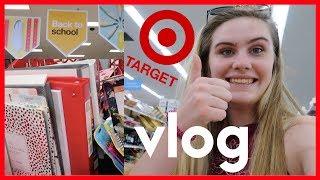 School Supply Shopping Vlog 2017 || Daisy Blake