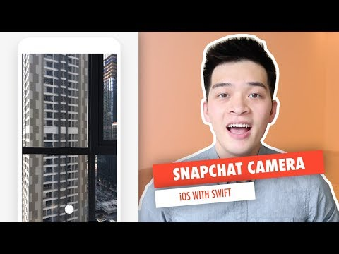 BUILD SNAPCHAT CAMERA IN iOS WITH SWIFT - AVKIT AND AVFOUNDATION