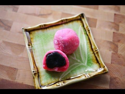 微波爐黑芝麻糯米糍  Microwave Mochi with Black Sesame Paste