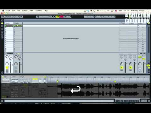 Ableton Tutorial--How to Remix: Warping Acapellas 2