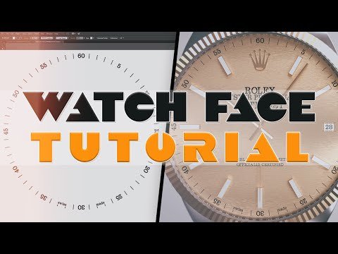 Watch Face in Illustrator Tutorial