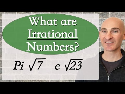 Irrational Numbers - What are they?