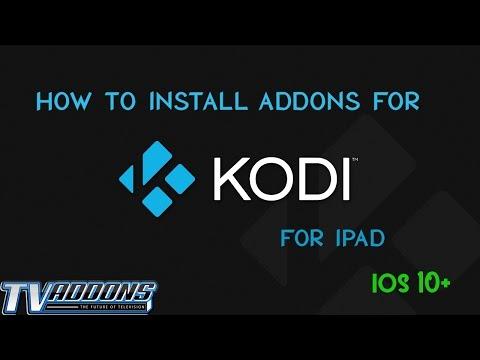 How to add add-ons to kodi on iOS kodi(playglass)