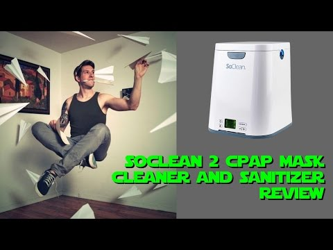 SoClean 2 Hands Free CPAP Mask Cleaner and Sanitizer Review. FreeCPAPAdvice com