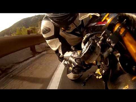 *GYROCAM Clip*  1min preview Big Winter Film 2016 -NIDYANAZO -Yamaha R1 Canyon time attack