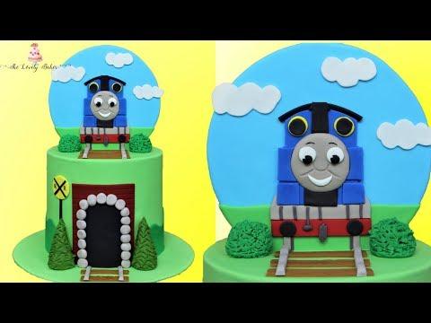 Thomas The Train Cake Tutorial!