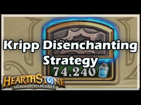 [Hearthstone] Kripp's Disenchanting Strategy