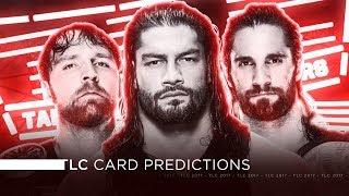 WWE TLC 2017 - Card Predictions