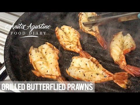 Butterflied Prawns in 1 Minute!