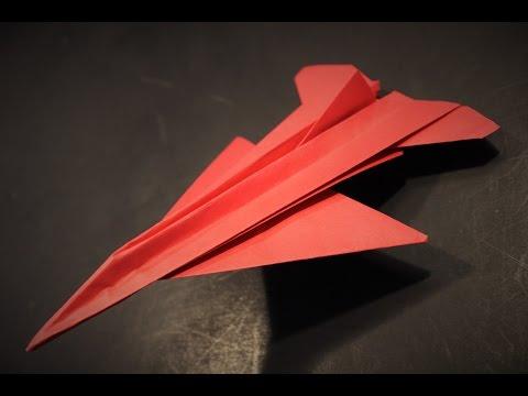 Comment faire un avion en papier (F-16)