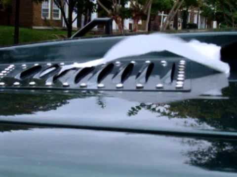 Heat Rises -- let it out with Hood Louvers